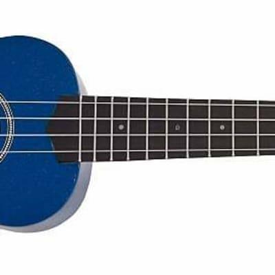 SAVANNAH SOLID BLUE UKULELE for sale