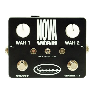 Keeley Nova Wah Dual Fixed Filter Effects Pedal