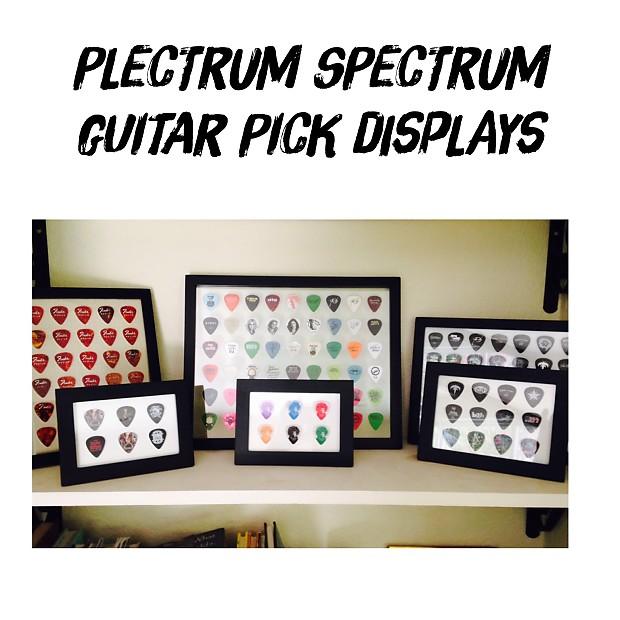 Plectrum Spectrum™ Guitar Pick Display Frame Insert 4\