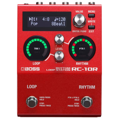 Boss RC-10R Rhythm Loop Station Guitar Effects Pedal, External MIDI Connector