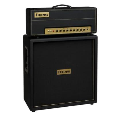 Friedman Brown Eye 100W 2-Channel Tube Guitar Amplifier Head, Footswitch