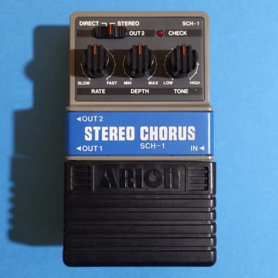 Arion SCH-1 Stereo Chorus grey box made in Japan w/box & catalog for sale