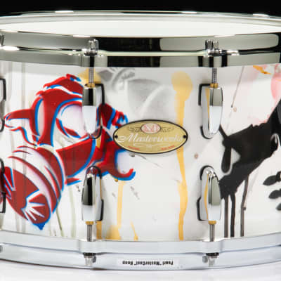Pearl Masterworks 8x14 Snare (Hand-painted by John Douglas)