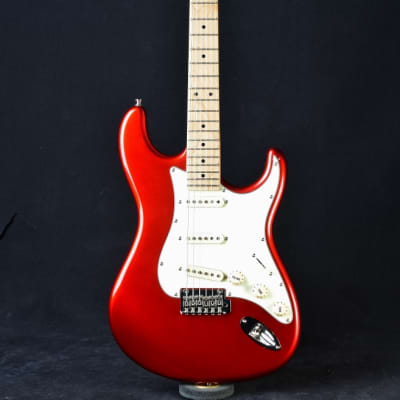 Tagima Classic Series T-635 Metallic Red with Mint Green Pickguard for sale