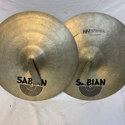 Sabian HH Germanic Orchestral Hand Cymbals 18""