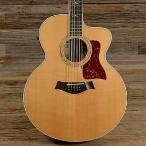 Taylor 655ce 12-String Jumbo Acoustic-Electric Guitar