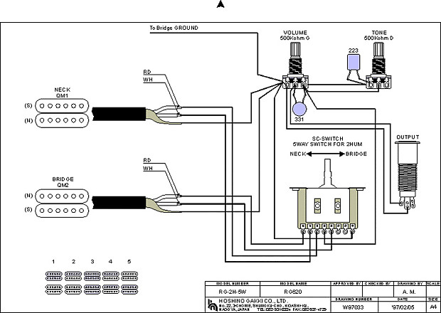IBANEZ S SERIES SABRE REPLACEMENT 5 WAY SWITCH 540R S570 – Japanese Fender 5 Way Switch Wiring Diagram