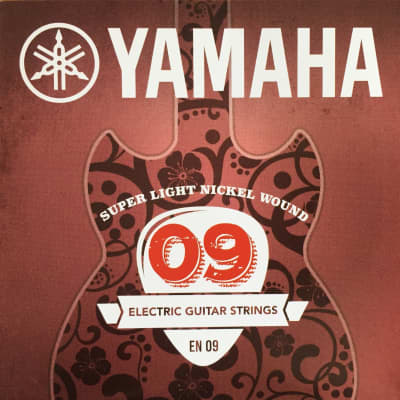 Yamaha Nickel Wound Electric Guitar Strings - EN09 Super Light 09-42