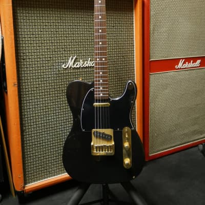 Fender Telecaster  Black 1981 gold for sale