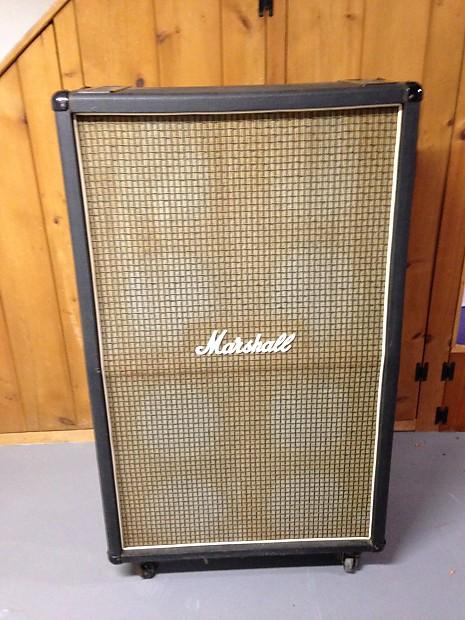 Marshall 8 x 10 Guitar Cabinet 1973 Black | Reverb