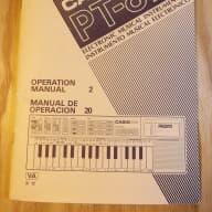 Casio PT-87  Original Manual