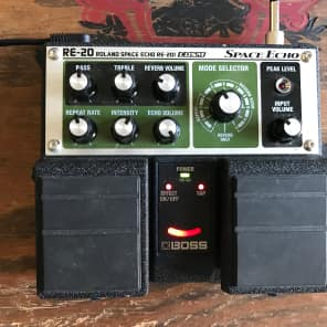 "JHS Boss RE-20 Space Echo w/ ""Soft-Touch/Expression"" Mod"