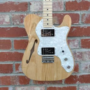 Fender Classic Series '72 Telecaster Thinline Natural Gloss Natural for sale