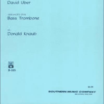 Uber, David (Knaub) Etudes (30) Bass Trombone Studies & Etudes