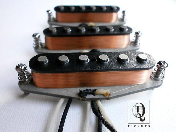 stratocaster alnico 2 5 mixed magnets custom guitar pickups reverb. Black Bedroom Furniture Sets. Home Design Ideas