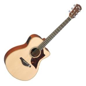 Yamaha AC3M Concert Acoustic/Electric Guitar Natural