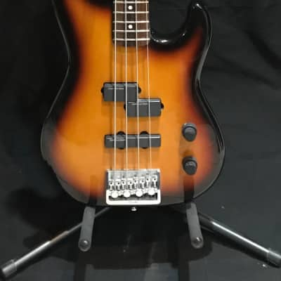 Fender Precision Bass Plus Deluxe 1992 Sunburst for sale