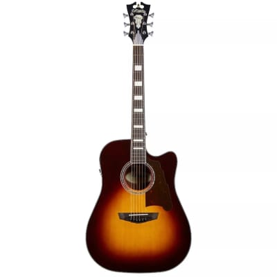 D'Angelico Premier Bowery Dreadnought with Cutaway and Electronics 2010s