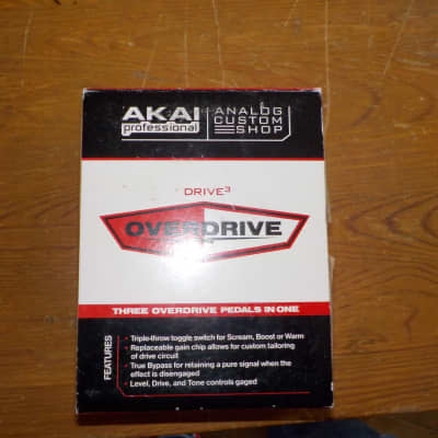 Akai Professional Overdrive 3 in 1 for sale