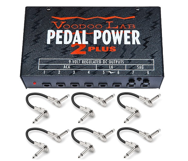 voodoo lab pedal power 2 plus guitar pedal power supply reverb. Black Bedroom Furniture Sets. Home Design Ideas