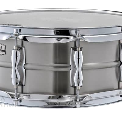 Yamaha RECORDING CUSTOM Stainless Steel 14 x 5.5 Snare Drum (RLS-1455) IN STOCK!