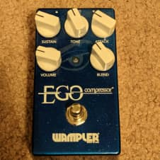 Wampler Ego Compressor V2 w/ Graphic Eye Logo