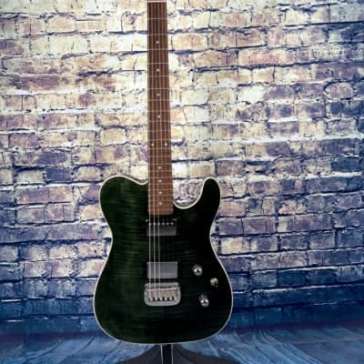 G&L  G&L ASAT Classic Deluxe Transparent Green for sale