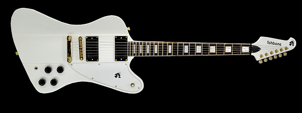 Electric Guitar String Sounds Dull : fishbone phoenix ffb 6 electric guitar 2015 white reverb ~ Vivirlamusica.com Haus und Dekorationen