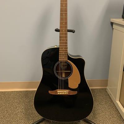 Fender California Series Redondo Player Acoustic/Electric Guitar - Black