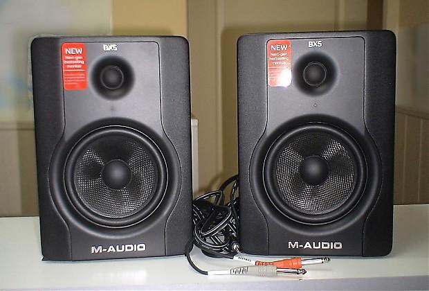 M-Audio BX5 D2 - Studio Monitors Pair | Best Seller