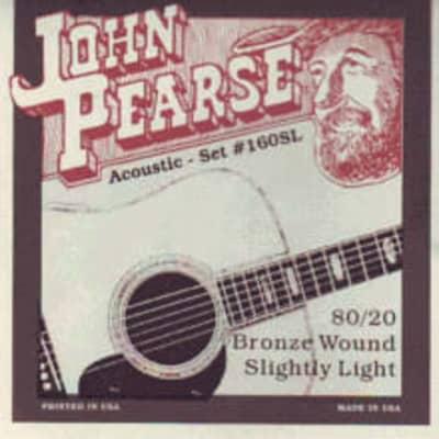 John Pearse 160 Sl   Corde Per Chitarra Acustica   80/20 Bronze Wound