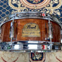 """Pearl 13x5"""" Omar Hakim Signature Snare Drum African Mahogany, Free Shipping"""