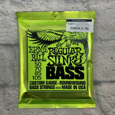 Ernie Ball EB2832 Regular Slinky Bass Guitar Strings 50-105