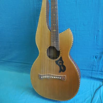 knutsen harp guitar 1920 for sale