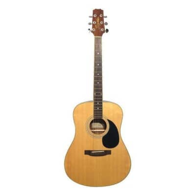 Segovia D07EQT-G-N - Dreadnought Acoustic Electric Guitar with Pickup and Built-In EQ - Natural for sale