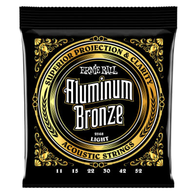 Ernie Ball P02568 Light Aluminum Acoustic 11-52