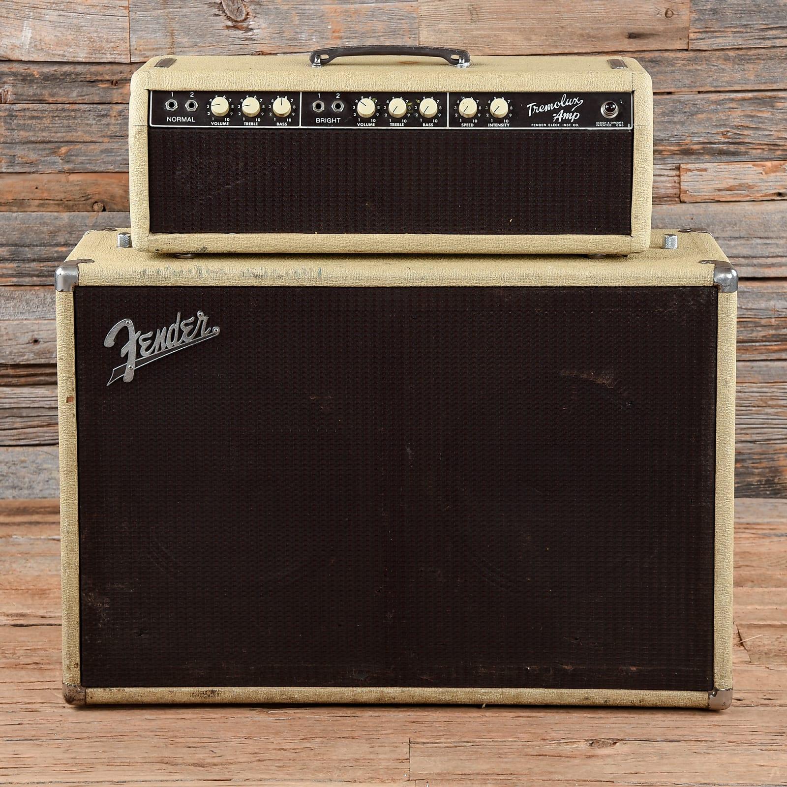 Fender Tremolux-Amp Piggyback  1962