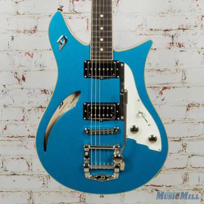Duesenberg DDC-CTB Double Cat Electric Guitar Catalina Blue
