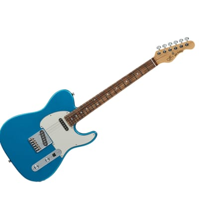 G&L Fullerton Deluxe ASAT Classic Lake Placid Blue w/ Rosewood Fingerboard for sale