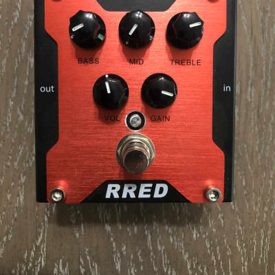 Randall RRED Distortion guitar effects pedal.  Excellent tones excellent condition. for sale