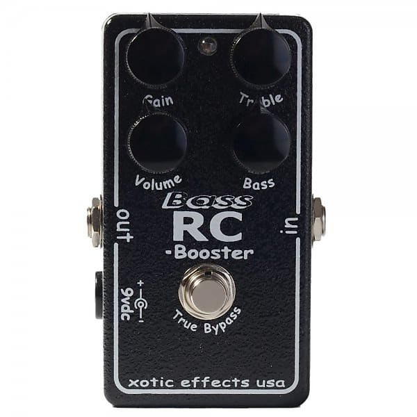 xotic effects usa bass rc booster bass guitar effects pedal reverb. Black Bedroom Furniture Sets. Home Design Ideas