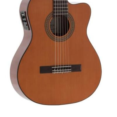 Admira Juanita-ECF cutaway classical guitar with cedar top, Electrified series Acoustic Guitar JUANITA-ECF for sale