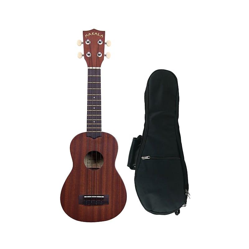 Makala MK-S Soprano Ukulele with Kala Gig Bag | Zorro Sounds
