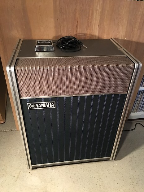 yamaha ra 100 rotary speaker leslie guitar amplifier like reverb. Black Bedroom Furniture Sets. Home Design Ideas