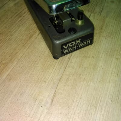Vox Sola Sound 1976 Sole Distribution Wah Wah Pedal for sale