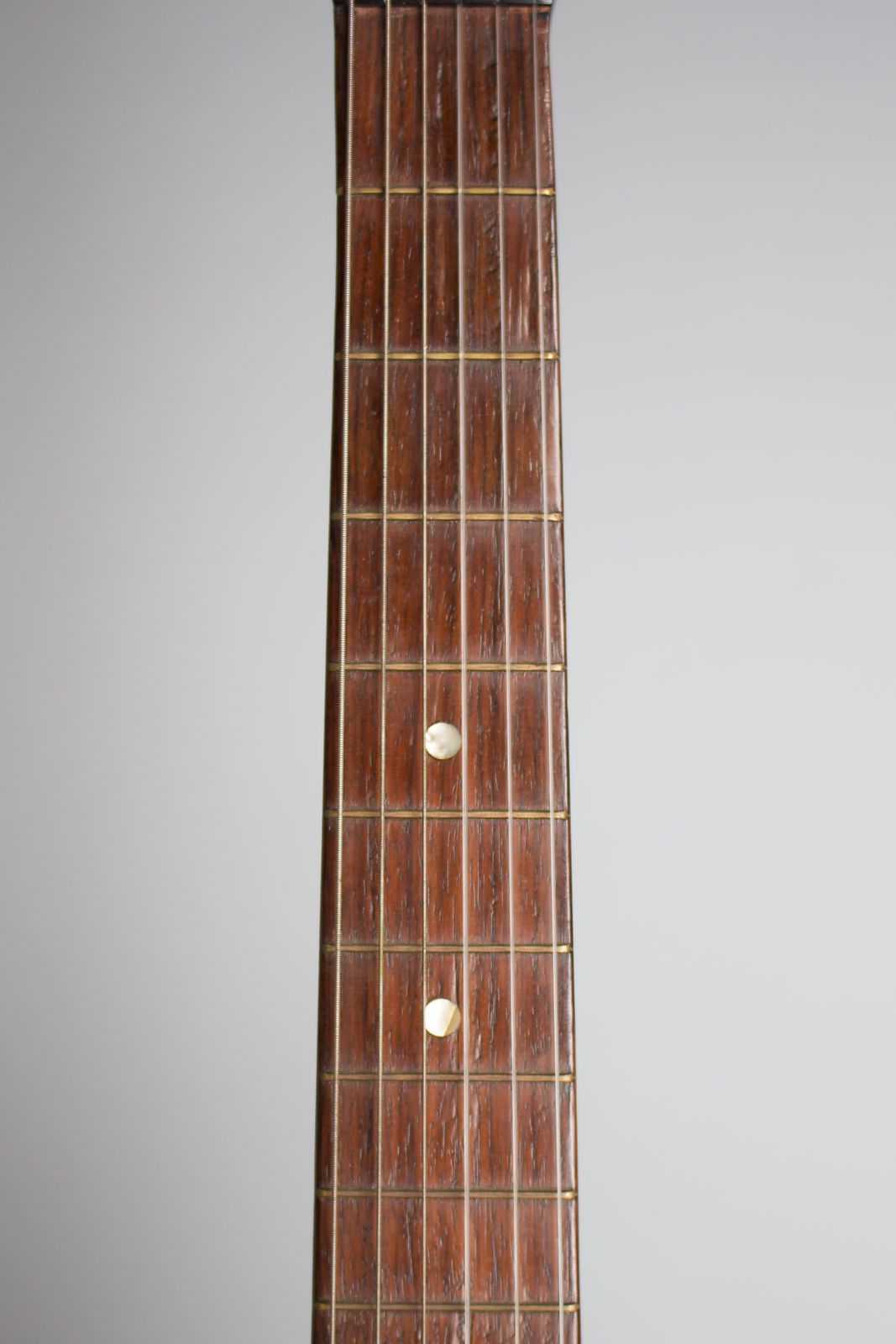 Romantic Guitar, labeled W. Kieser,  c. mid 19th century, NO CASE case.