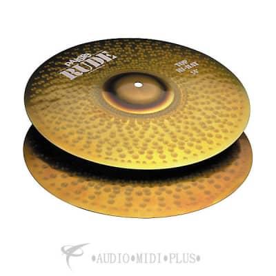 Paiste 14 inch Rude Hi-Hat Top Cymbal - 1128114-697643100534
