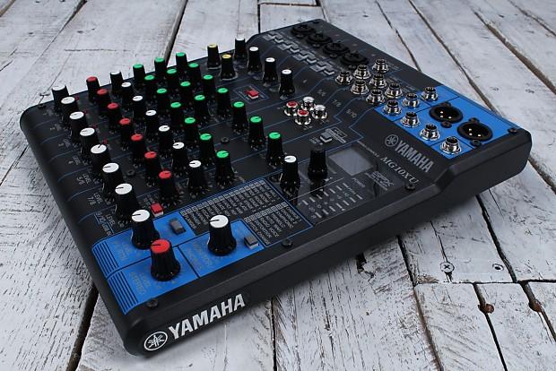Yamaha mg10xu 10 channel analog stereo mixer with 4 mic for Yamaha mg10xu review