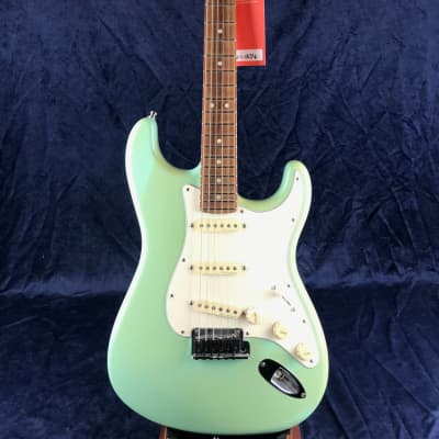 Fender Custom Shop Jeff Beck Signature Stratocaster RW Fingerboard in Surf Green pre-owned for sale