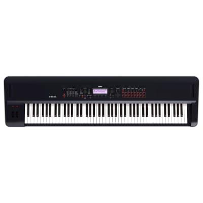 Korg KROSS 2 Keyboard Synthesizer Workstation, 88-Key, Black